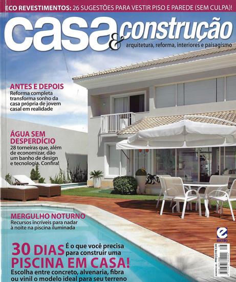 revista casa e construção