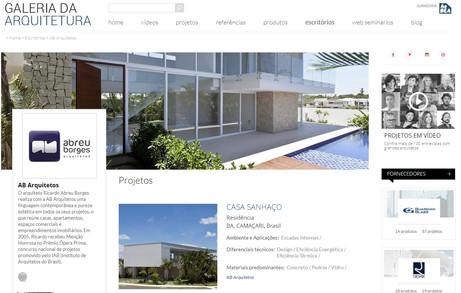 portal galeria arquitetura
