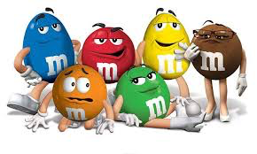 m&m's personified