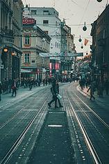 Street of Zagreb City Center