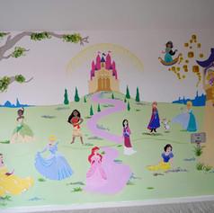 Princesses and Castle
