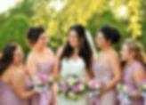 Coutyard wedding ceremony