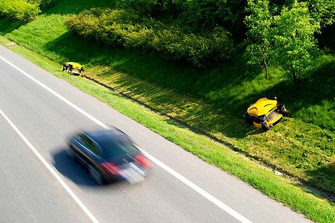 SPIDER mower - roadside maintenance