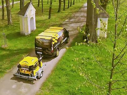 SPIDER mower transport