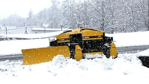 SPIDER mower snow plow plough