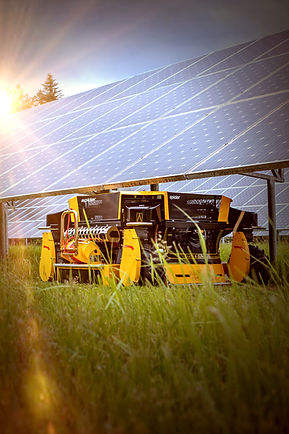 Kosačka SPIDER 2SGS fotovoltaické panelov