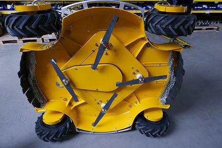 Kosačka SPIDER 2SGS servisná poloha
