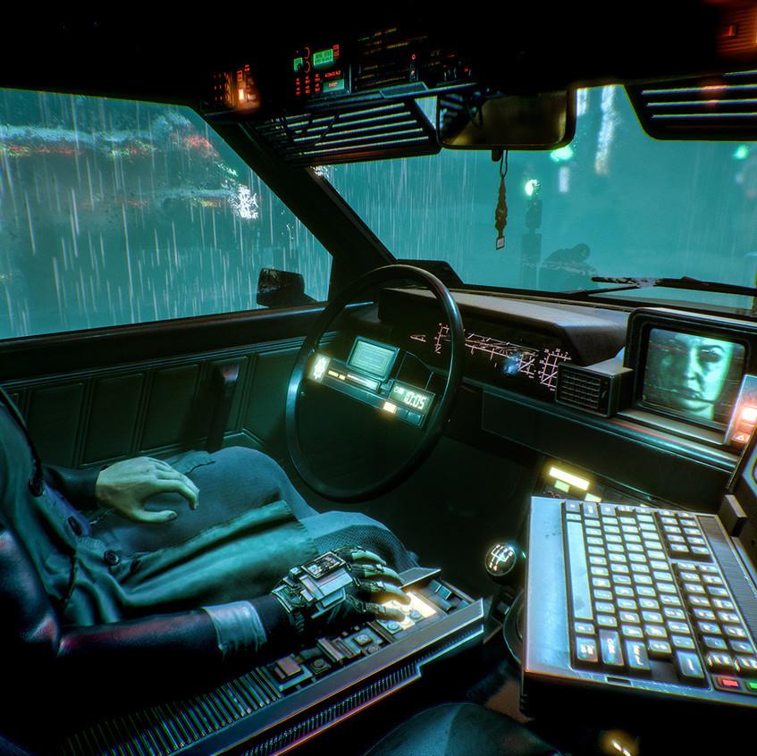 Observer_Police Car