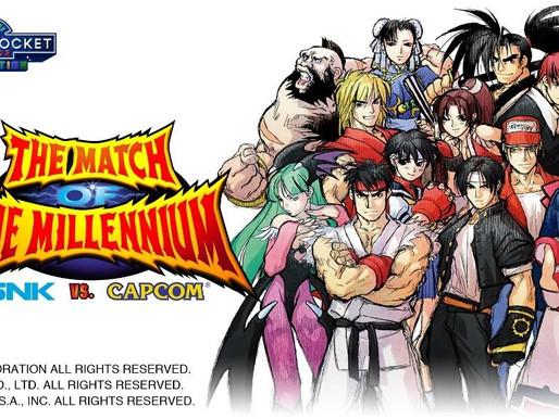 SNK VS. Capcom: The Match of The Millennium chega ao Nintendo Switch