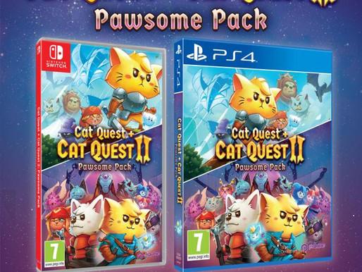Pacote Pawsome, incluindo Cat Quest e Cat Quest II é anunciado