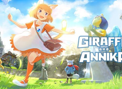 Giraffe and Anikka é anunciado para Nintendo Switch
