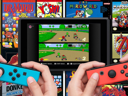 Nintendo Switch Online recebe a atualização de jogos de Dezembro