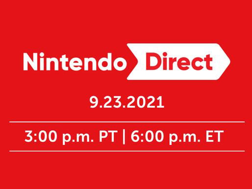 Nintendo Direct de Setembro é anunciado - Tudo o que sabemos