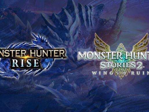 Novidades de Monster Hunter Stories 2: Wings of Ruin e Primeira Atualização Gratuita de MH Rise