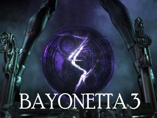 Bayonetta 3 será lançado aparentemente em 2022