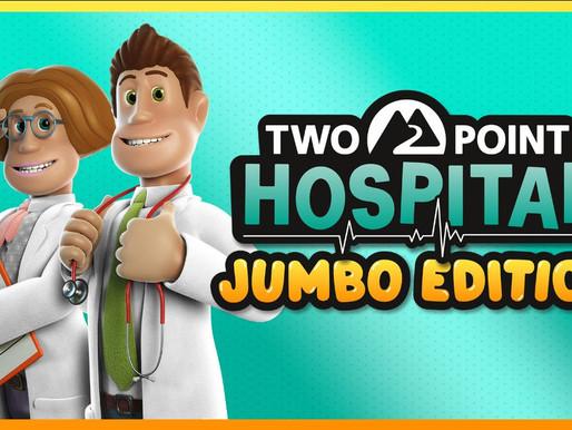 Two Point Hospital: JUMBO Edition já está disponível para Switch e consoles