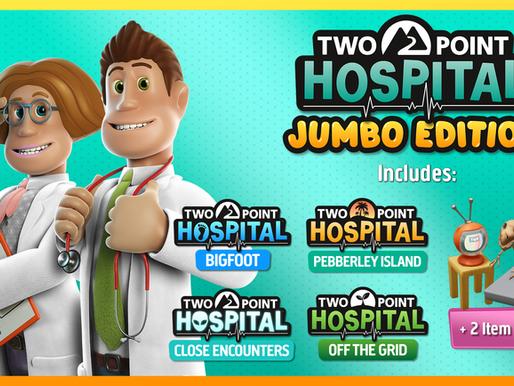 Review - Two Point Hospital: Jumbo Edition é a versão definitiva no Nintendo Switch