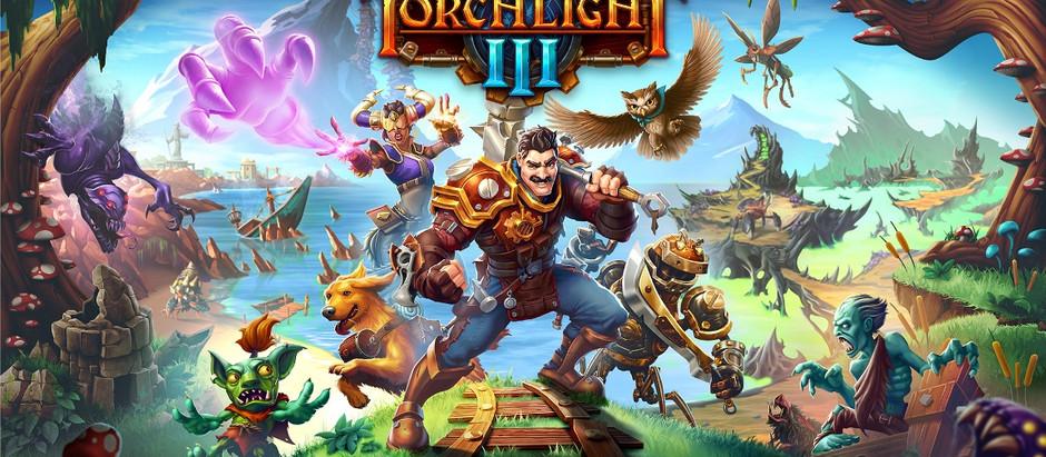 Torchlight III chegará ao Switch na próxima semana