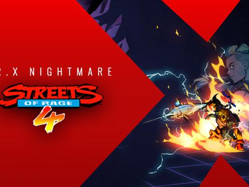 Streets of Rage 4 ganhará novos conteúdos em formato de DLC