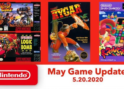 Veja os novos jogos de SNES / NES para atualização de maio de 2020 do Nintendo Switch Online