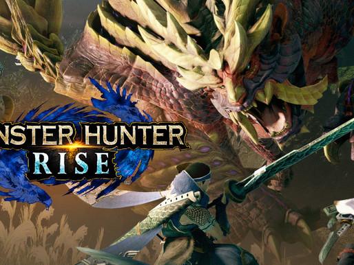 Novo Trailer de Monster Hunter Rise Apresenta Novos Monstros, Locais e Jogabilidade do Frenesi