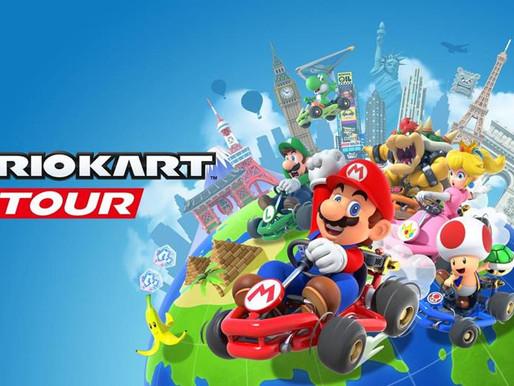 Mario Kart Tour se torna lançamento mais baixado de todos os tempos nos celulares
