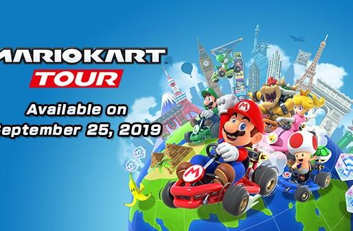 Mario Kart Tour ganha data de lançamento e trailer de gameplay