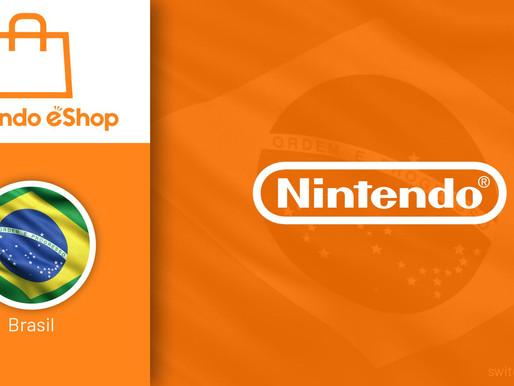 A Nintendo eShop está oficialmente disponível no Mercado Brasileiro !