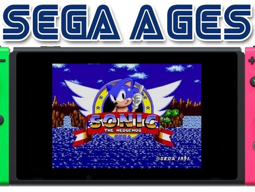 Primeiros jogos do Sega Ages chegarão essa Semana