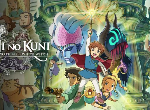 [Review/Análise] Ni No Kuni: Wrath of the White Witch-Estúdio Ghibli em poesia