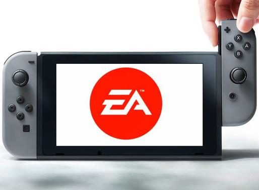 EA afirma que pretende colocar mais jogos no Switch, sem descartar o serviço EA Play