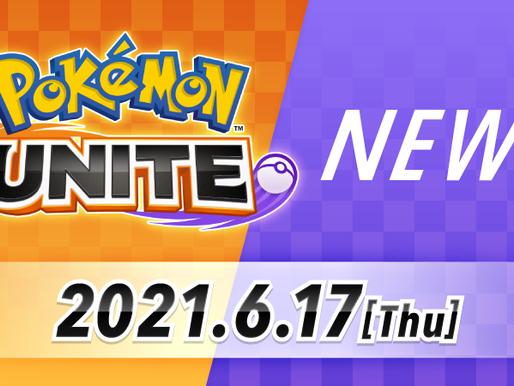 Notícias de Pokémon Unite chegando amanhã
