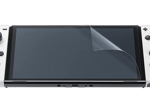 Nintendo Switch OLED tem o seu próprio protetor de tela de fábrica