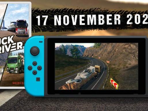 Truck Driver pega a estrada no Switch em 17 de novembro de 2020