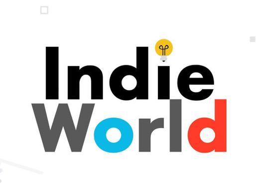 Nintendo Indie World confirmado para o dia 17 de Março