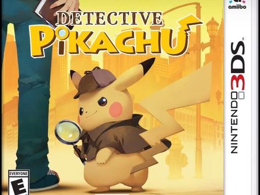 Detective Pikachu chega dia 23 de Março ao 3DS