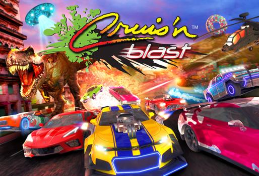 Cruis'n Blast ganha novo trailer mostrando veículos e libera sua pré-venda