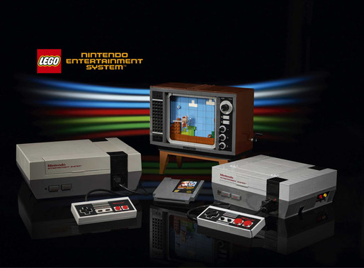 LEGO Nintendo Entertainment System é anunciado oficialmente