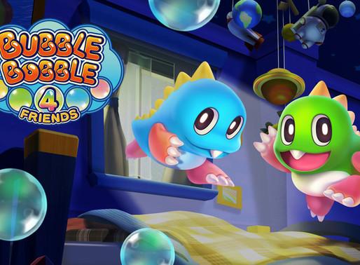 Bubble Bobble 4 Friends - Análise do clássico revivido no Switch