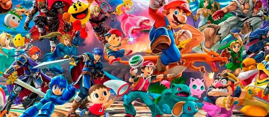 Evento de Super Smash Bros Ultimate é anunciado para dia 4 de Março