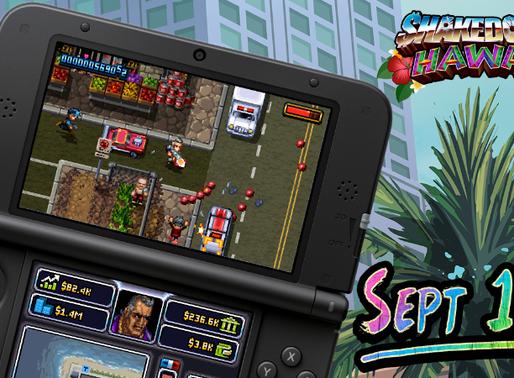 SHAKEDOWN: HAWAII chega ao Nintendo 3DS Quinta-feira, 19 de setembro nas Américas(26 de setembro na