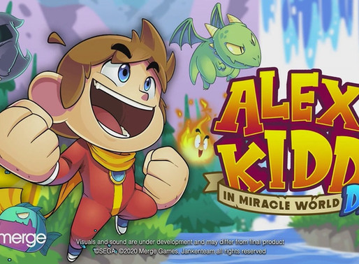 Alex Kidd in Miracle World DX anunciado, chegando ao Switch