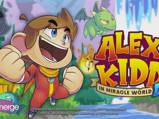Alex Kidd in Miracle World DX anunciado, chegando ao Switch