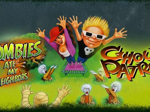 2 Clássicos da Lucas Arts estão chegando ao Switch: Zombies Ate My Neighbours e Ghoul Patrol