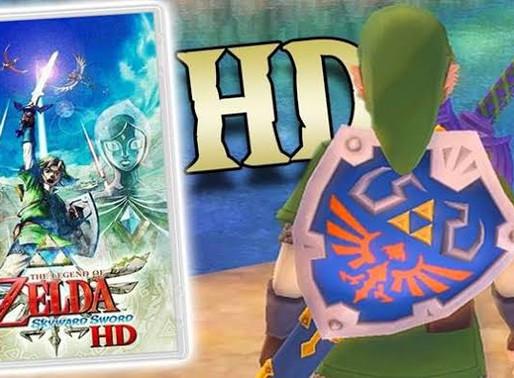Zelda Skyward Sword é listado para Switch na Amazon UK