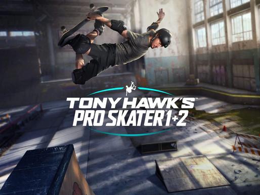 Tony Hawks Pro Skater 1 e 2 Remake são anunciados para Switch e já chegam no próximo mês