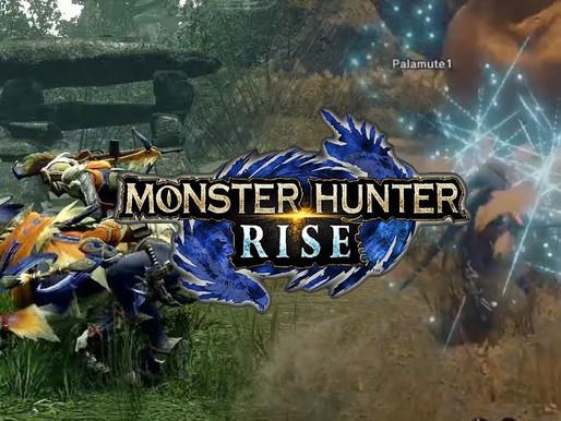 Trailer de Monster Hunter Rise Apresenta Novos Monstros, Nova Área e Mais; Demo em Janeiro de 2021