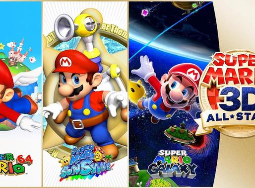Coletânea de Super Mario é anunciada para Switch - Confira a resolução e o espaço que ocupará