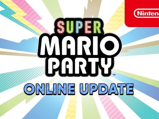 Atualização de Super Mario Party (versão 1.1.0) já está disponível com multiplayer online e mais !