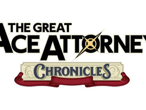 The Great Ace Attorney Chronicles é anunciado com data de lançamento nacional para Nintendo Switch
